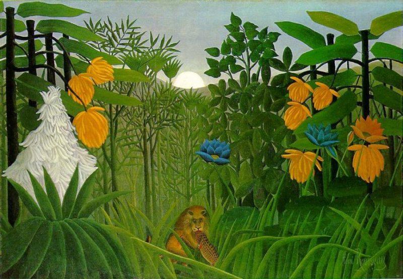1907--Henri-Rousseau-Lvi-hostina