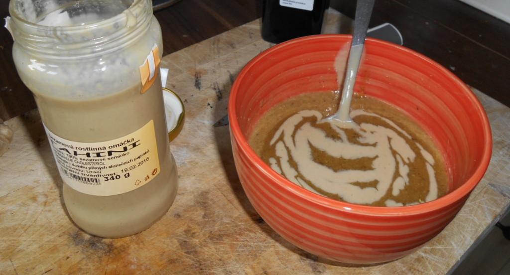 Květáková polévka s tahini