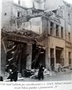 Němci v Ústí nad Labem po roce 1945 / ústí nad labem odsun němců