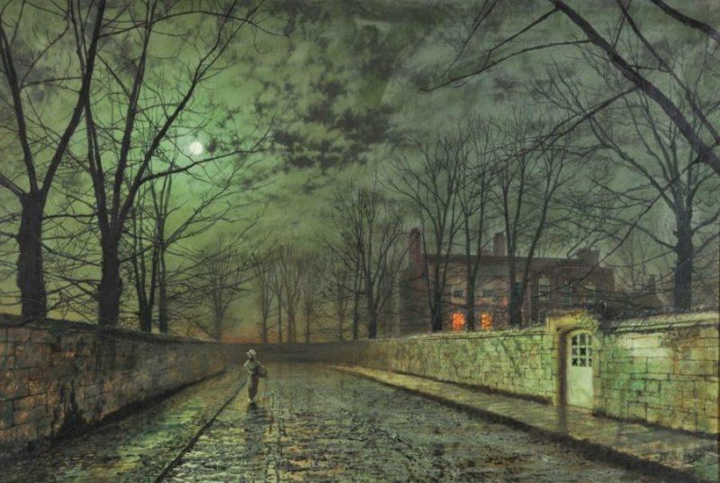 John-Atkinson-Grimshaw-alley