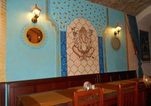 indicka restaurace Taj Mahal ústí nad labem