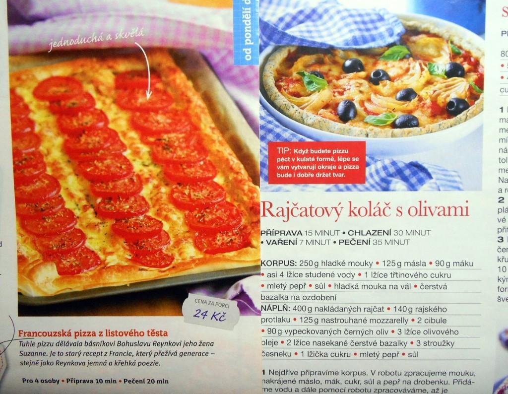 pizza a koláč