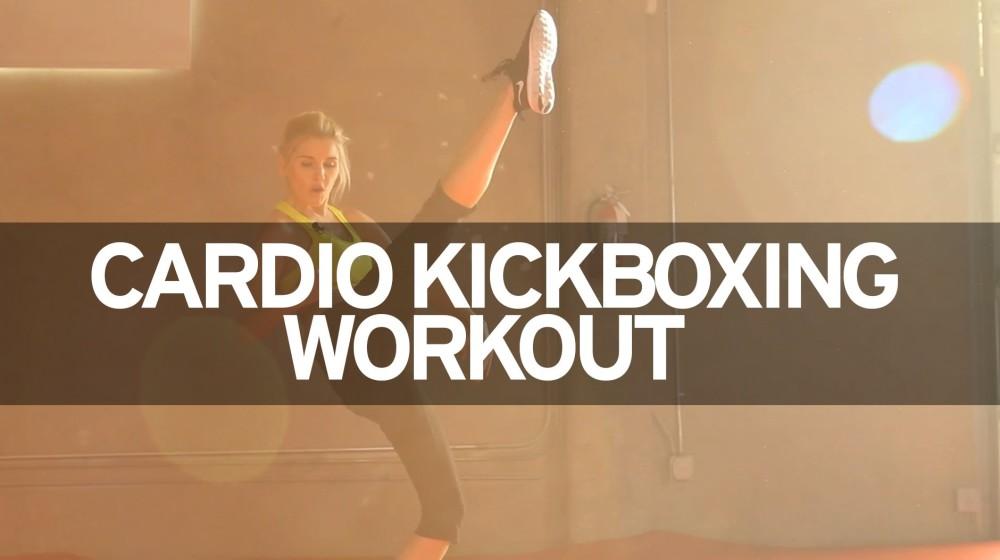 kickbox cvičení rebecca louise