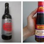 sojová omáčka bez cukru a bez glutamátu, olej z pražených sezamových semínek