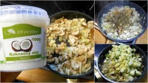 bedly s cuketou / smazenice / veganské recepty