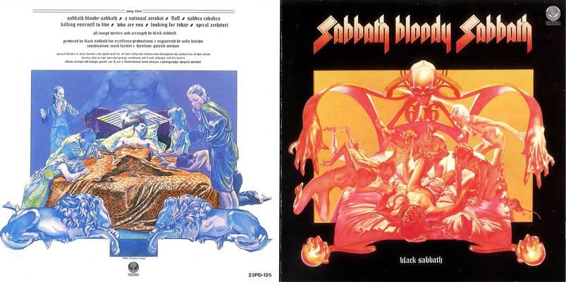 Obal Sabbath Bloody Sabbath