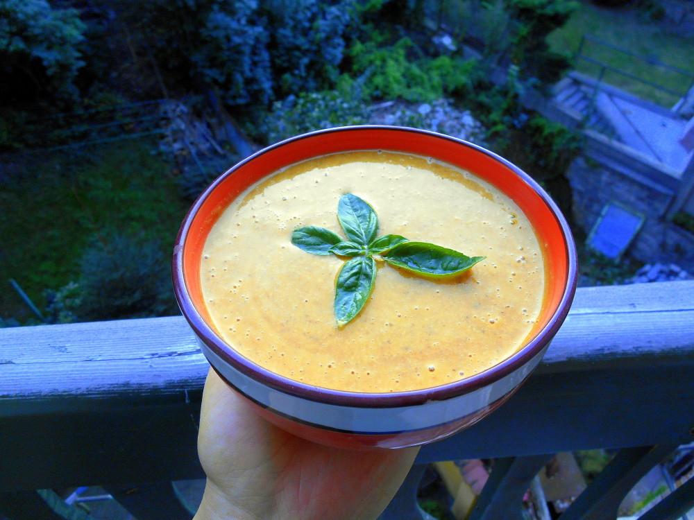 dýňová polévka / veganské recepty