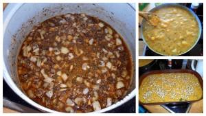 Zapečená polenta / veganské recepty
