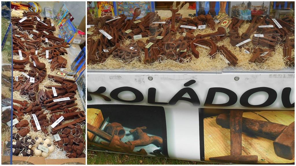 čokoládové nářadí