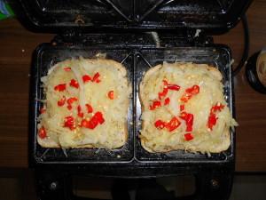 zelné tousty / veganské recepty