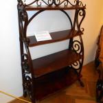 thonetový nábytek starožitný, police