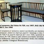 thonetový nábytek starožitný