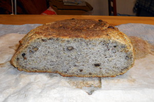 domácí chléb / veganské recepty