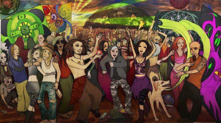 tekkno rave trance party