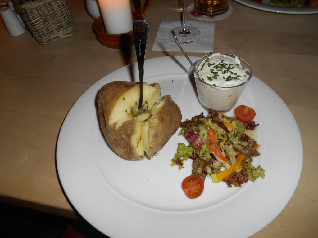 Kartofel v Estrel Stube