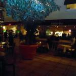 restaurace portofino / hotel estrel / berlín