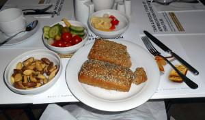 snídaňové švédské stoly v sanssouci / hotel estrel
