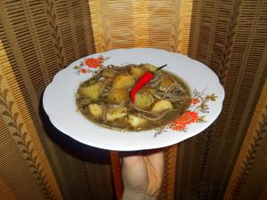 Bramborové chilli ragú / veganské recepty
