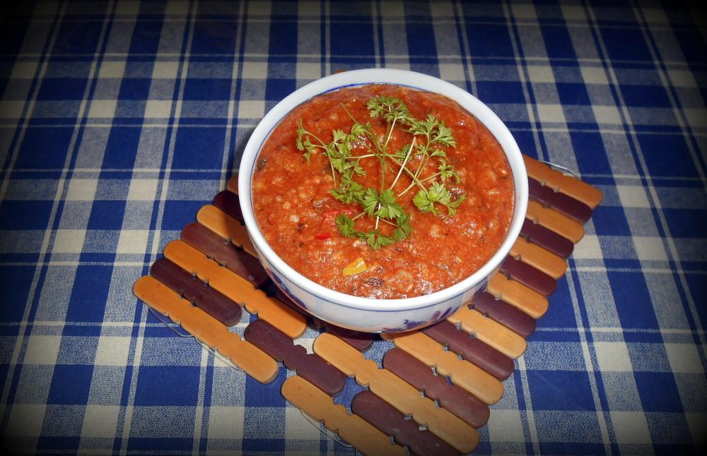 polentová kaše / veganské recepty