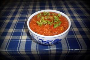 polenta mix / veganské recepty / polentová kaše