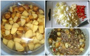bramborové chilli ragú