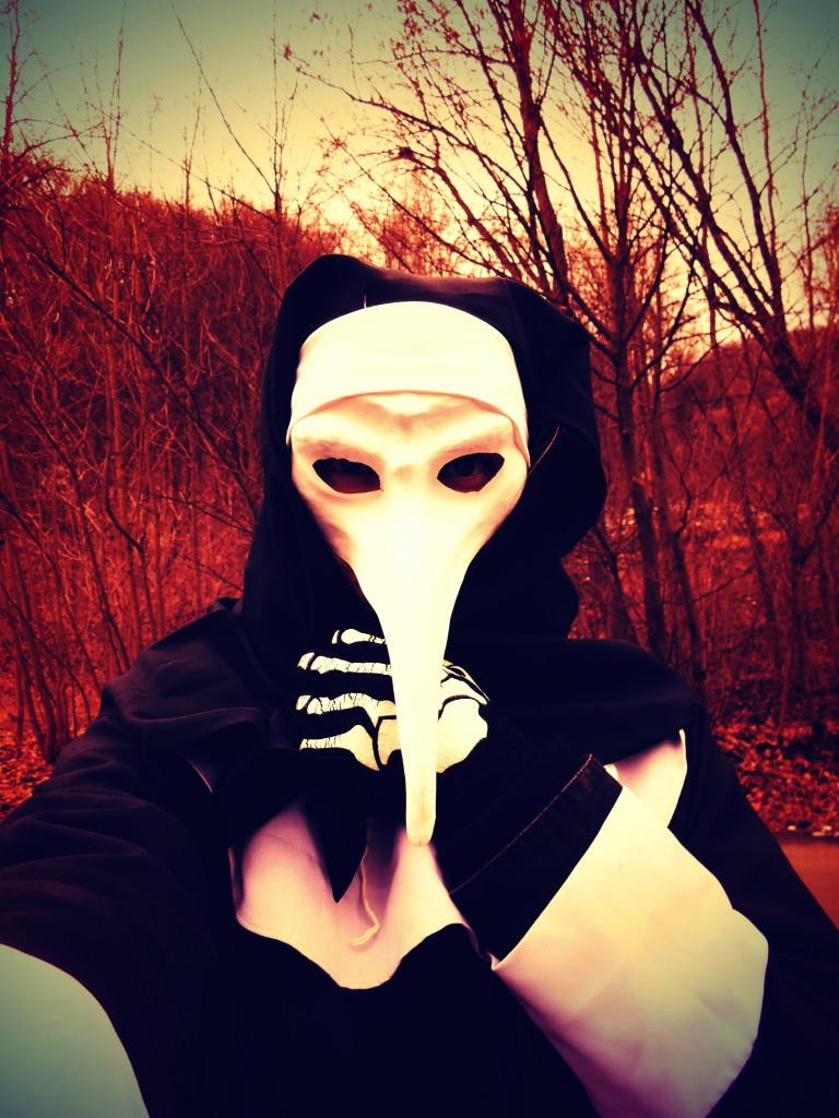 masopustní maska morová