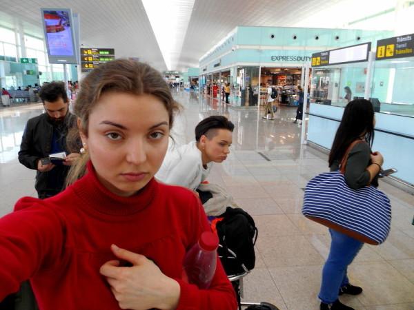 Letiště Barcelona - utrpení