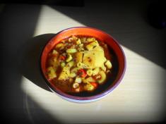 celerový guláš / veganské recepty