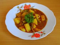 vindaloo bramborové / veganské recepty