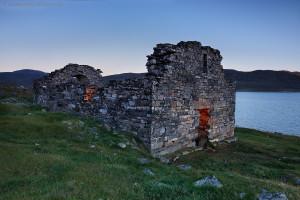 vikingský kostel v Grónsku, čarodějnictví