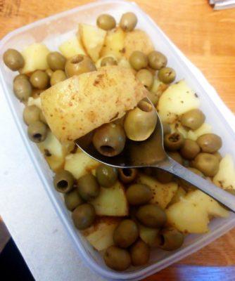 olivy-s-bramborami-vegan-recept-miluna / vegan recepty / strava