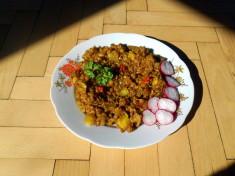 žitné rizoto / veganské recepty