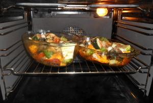 zapékané tykvovité / veganské recepty