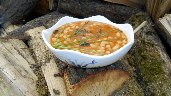 Houbový guláš / veganské recepty / miluna