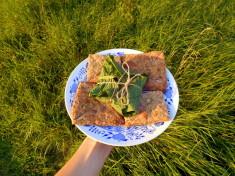 lembas elfí chléb / veganské recepty / miluna