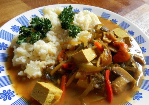 veganská čína / veganské recepty