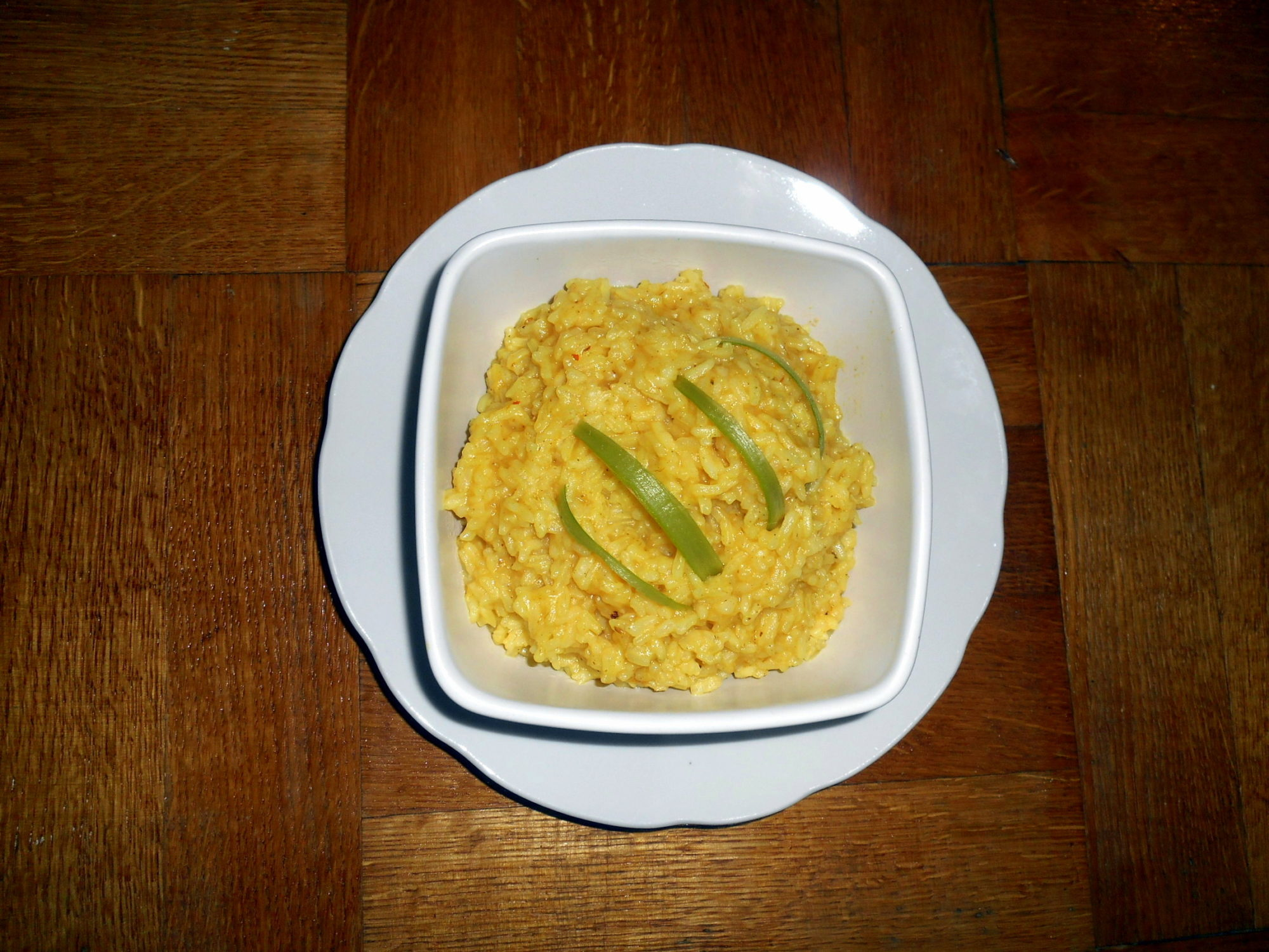 kari rýže / rýže na kari / veganské recepty