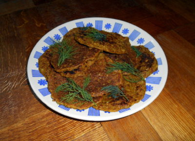 pohankové a ovesné placky / veganské recepty