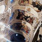 Strop kostela svatého Tomáše v Praze