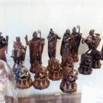 Obchod s tématikou Harryho Pottera: velké šachové figurky