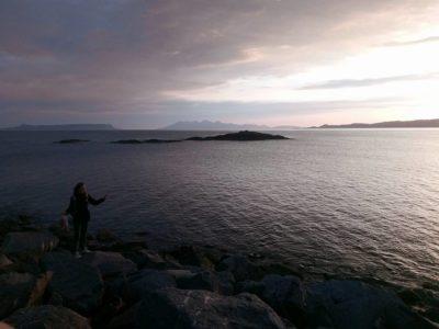Výhled na moře a ostrovy, Mallaig