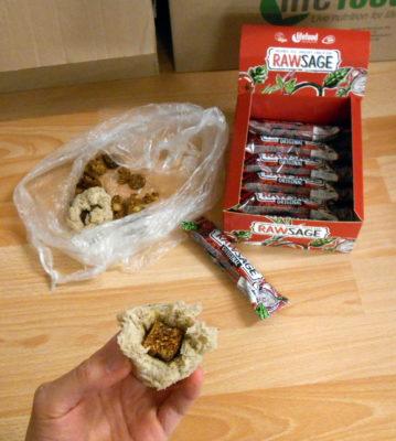 rawsage / veganská strava
