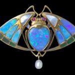 Secesní šperk