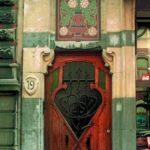Secesní dveře, Belgie