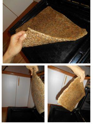 chlebová placka / vegan recepty / staročeské placky