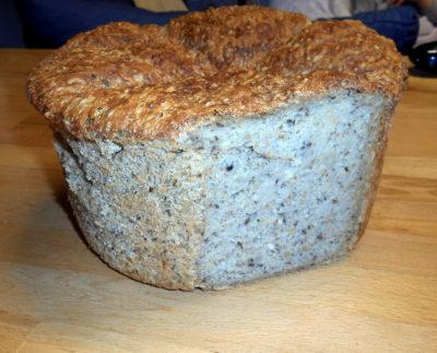 Chléb s konopnými semínky / domácí chléb z trouby / chleba / veganské recepty
