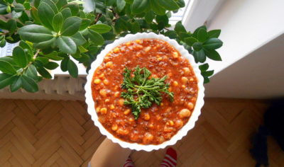 chili sin carne / veganské recepty / vegan recepty