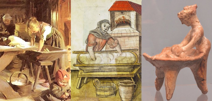 kneading-trough-trug-stoup-bread-baking-medieval