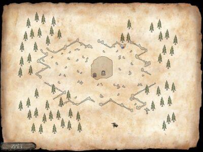 mapa hřbitova - inquisitor 2009 cinemax české hry