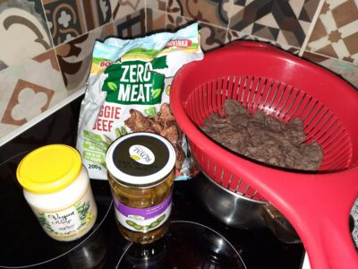 Bona Vita Zero Meat sójové plátky s kakaem